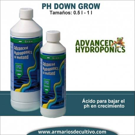 Ph- Down Grow Advanced Hydroponics (0.5L-1L)
