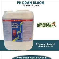 Ph Down Bloom Advanced Hydroponics (5 litros)