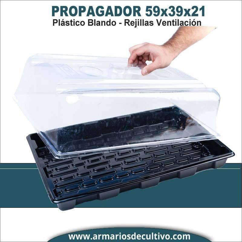 Propagador 59x39x21 Plástico Flexible