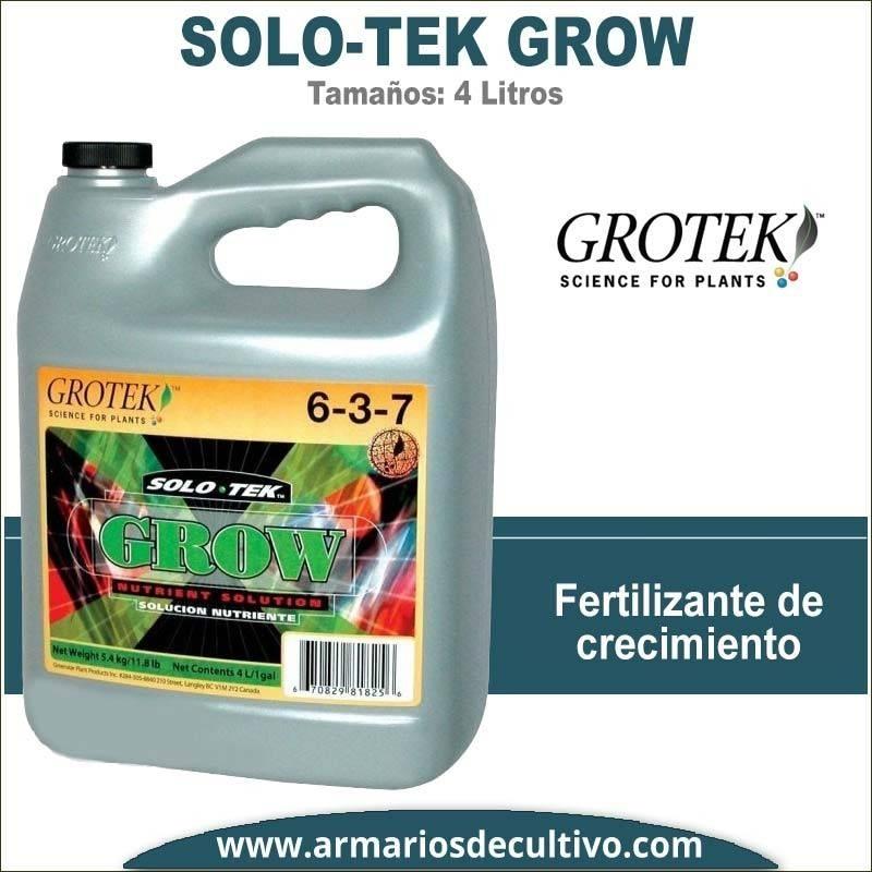 Solo Tek Grow (4 Litros) – Grotek
