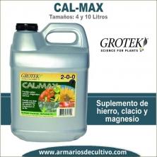 Cal Max (4 y 10 Litros) – Grotek