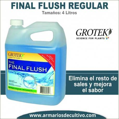 Final Flush Regular (4 Litros) – Grotek