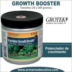 Growth Booster (20 y 300 gramos) – Grotek
