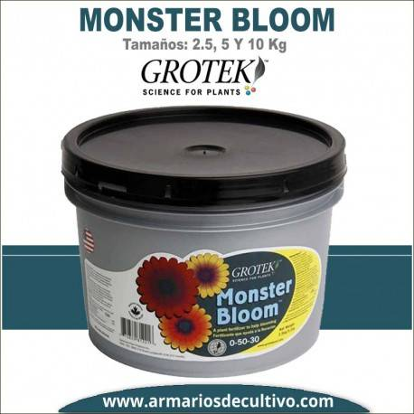 Monster Bloom (2.5, 5 y 10 kilos) – Grotek