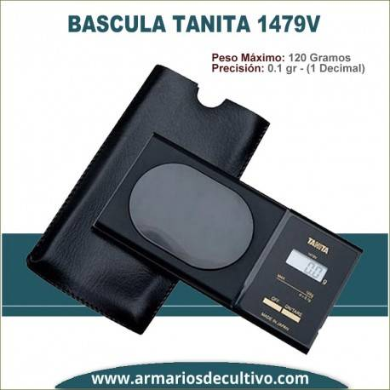 Báscula Tanita 1479V Pocket Scale 120 gr x 0.1